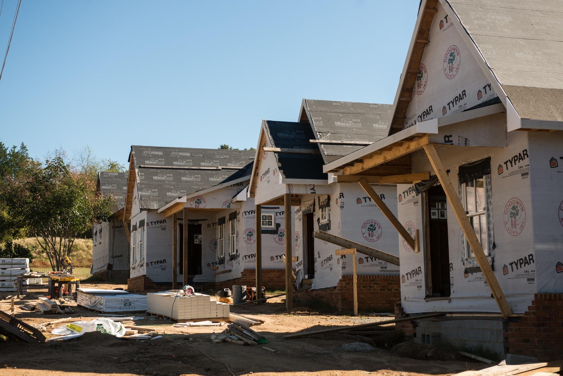 Cottages Taking Shape